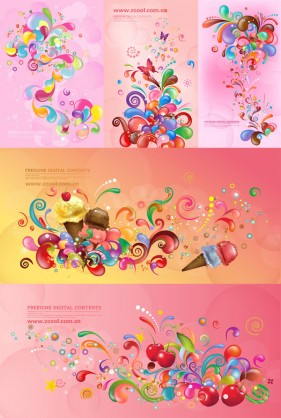 The trend of colorful Vector Case Series   Pink