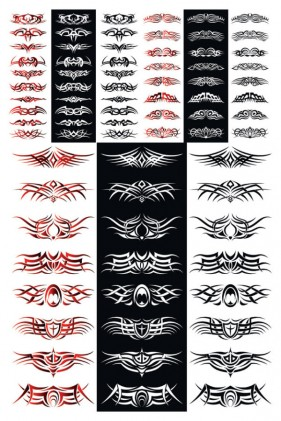 The trend totem vector material