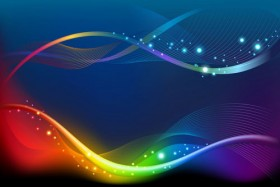 Colorful dynamic flow line 03   Vector