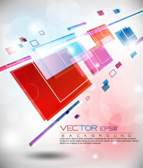 colorful abstract elements 10   vector material