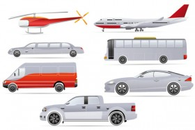 cartoon transport   vector material