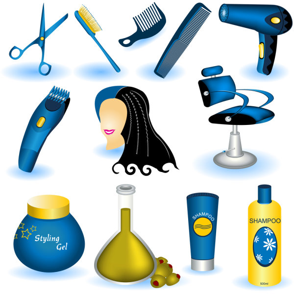 the the exquisite daily necessities material   Vector