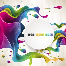 colorful background Vector 01   Vector