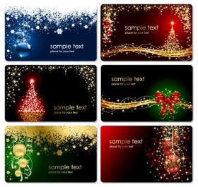 gorgeous Christmas tree vector material
