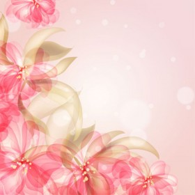 colorful flowers background 03   vector material