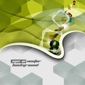 trend background 05   vector material