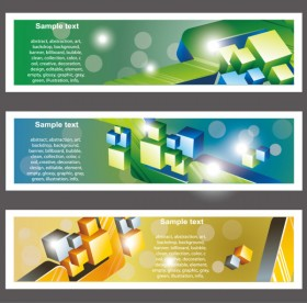 trends bookmark card 01   vector material