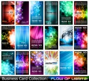 a variety of business card template 05   vector material