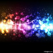 Vector trend light background 02   vector material