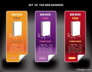 color banners banner03 Vector   Vector