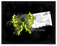 colored abstract butterfly pattern 03   vector material