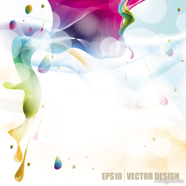 colorful background Vector 03   Vector