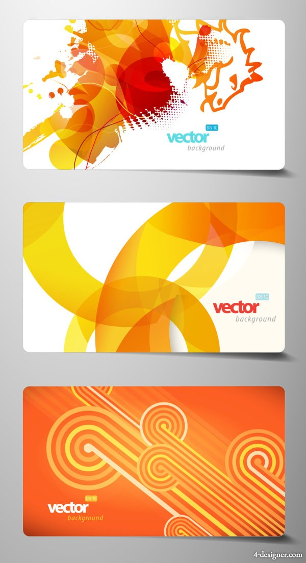 exquisite card material 02   vector material