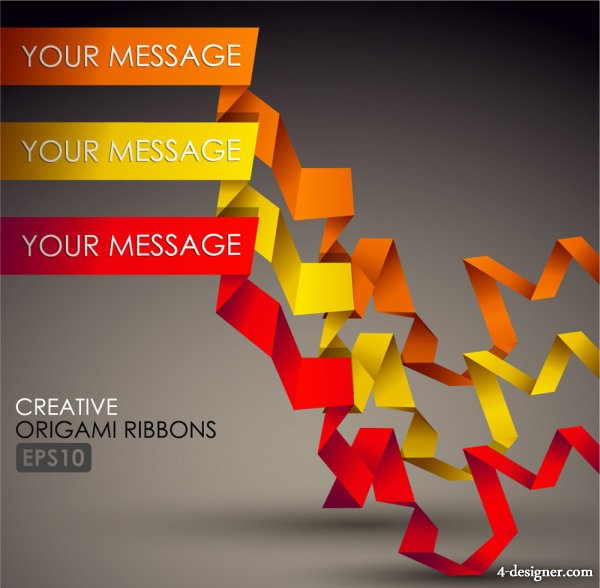 exquisite color bar typesetting material 02   vector material
