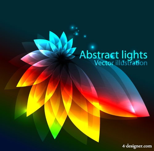 gorgeous colorful background 02   vector material
