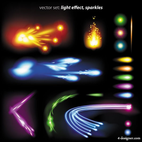 Colorful flow line 01 Vector   Vector