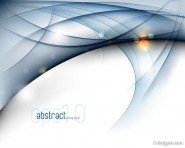 a gorgeous dynamic flow line background 05   vector material