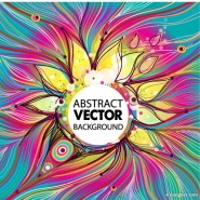 gorgeous lines pattern 02   vector material