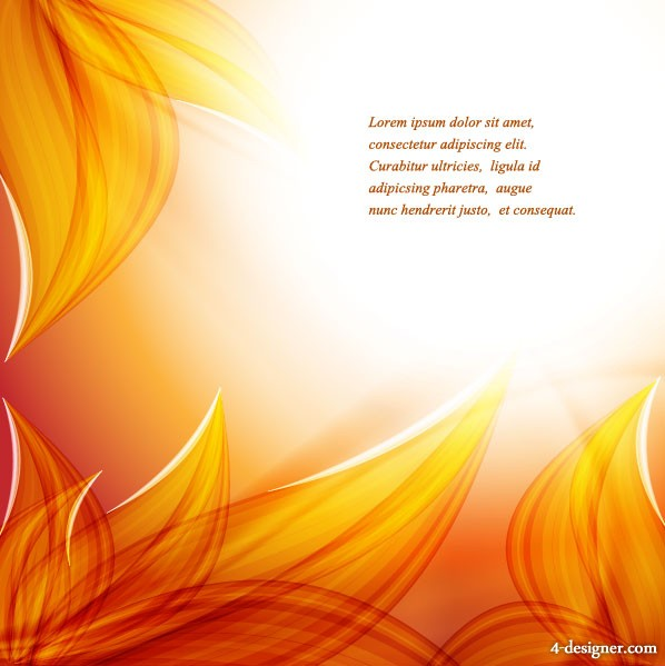 beautiful autumn leaf background 04   vector material