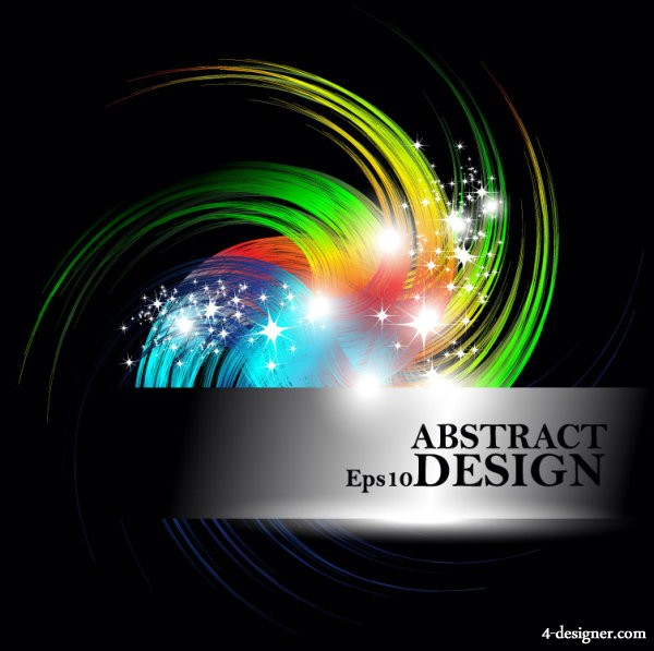 trend Colorful background 03   vector material