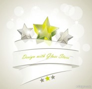 Dynamic star background vector material   Vector
