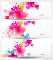 The dynamic trend banner04 Vector