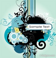 A combination of elements of the trend pattern vector material