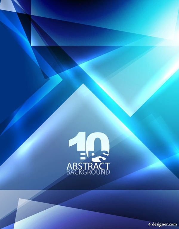 Blue dynamic technology background vector material 01   Vector