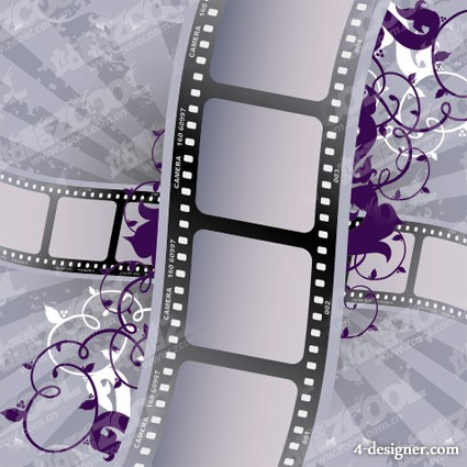 Film pattern vector material