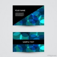 The trend business cards 03   Vector
