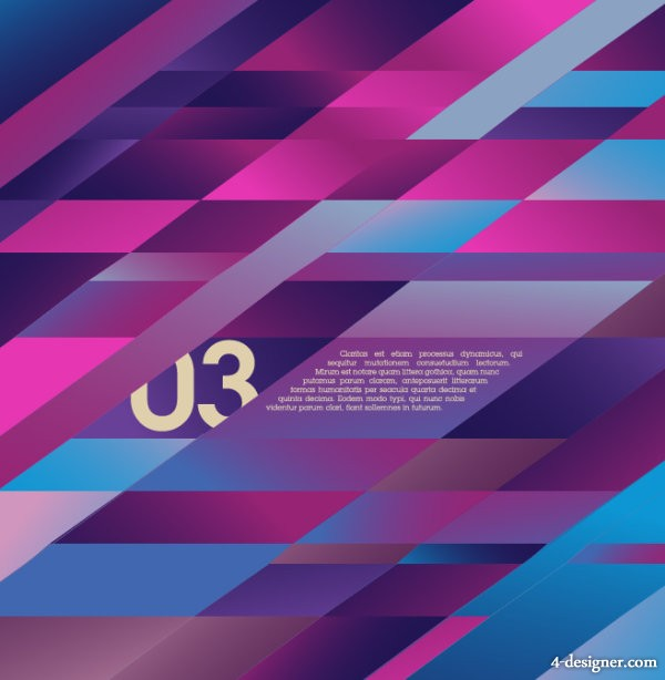 Abstract background of the trend 02   vector material