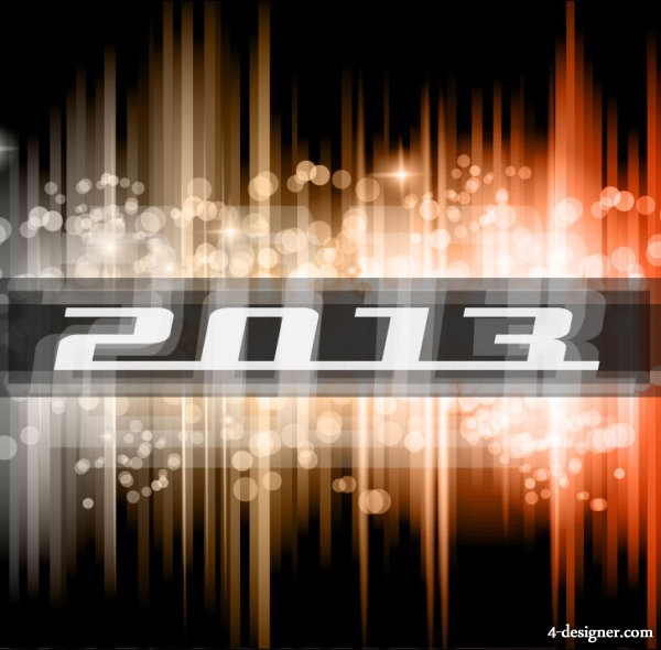 Bright trend dynamic background 02   vector material