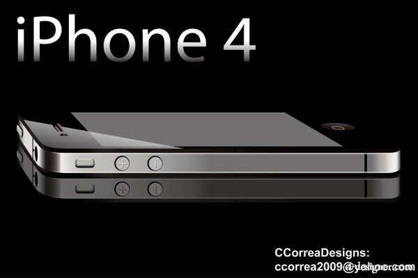Iphone4   vector material
