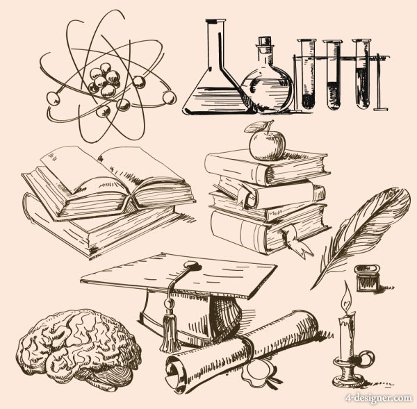 Mathematical physical and chemical tool material   Vector