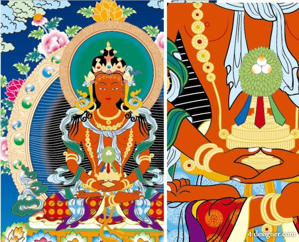 Thangka off Equ Venerable Vector earnings for the purpose of reserved