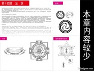 Tibetan Buddhist symbols and artifacts diagram of fourteen source of law vector material