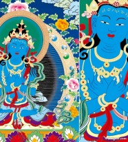 Thangka Ai bodies of law, King Kong holding Vector contempt for those who claim to have copyright