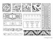 15 Chinese classical vector material