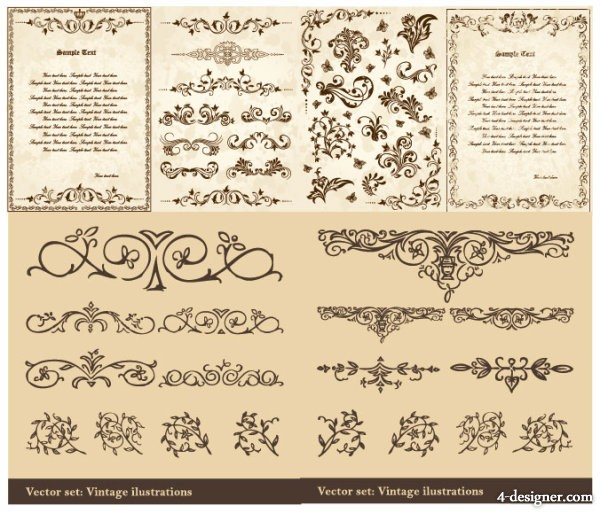 European classical pattern vector material shading; patterns; gorgeous; vectors; lovely; flowers; Phnom Penh; dotted line; gradient; the Quartet continuous; chains; quiet; English; wings; flowers; spread; dendrite