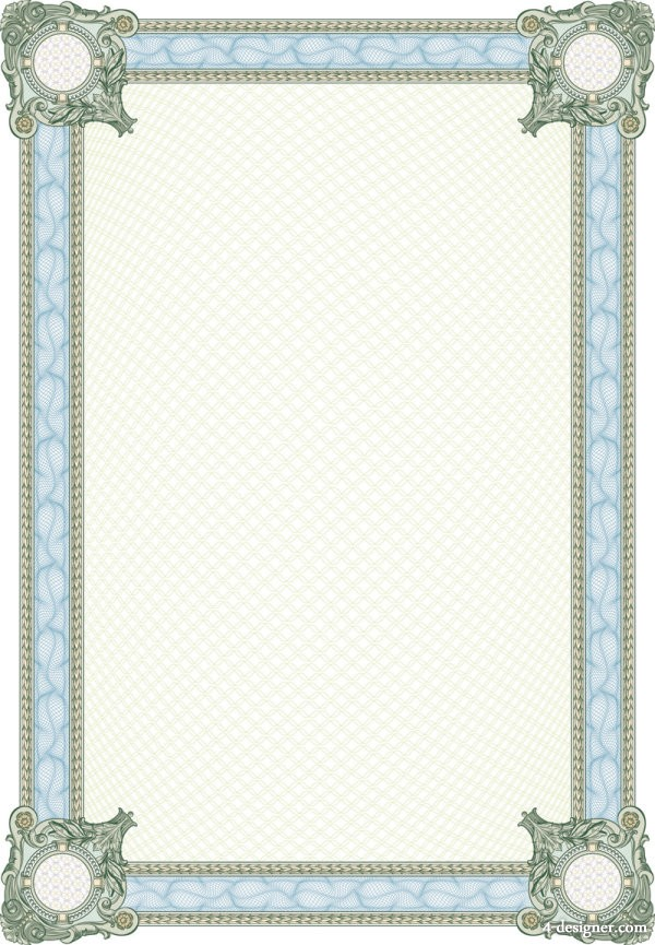 the classic security pattern border 02   vector material
