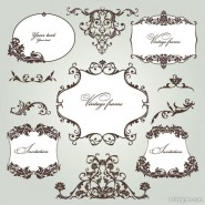 Exquisite pattern 03   vector material