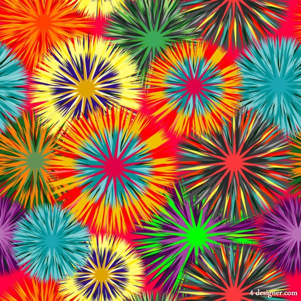 Beautiful pattern background 02   vector material