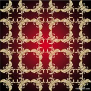 Gold pattern shading 05   vector material