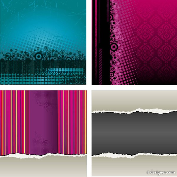 The old pattern and texture 02   vector material