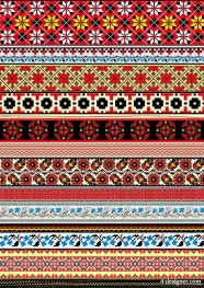 Cross Stitch patterns 06   vector material