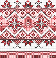 Exquisite cross stitch patterns 10   vector material