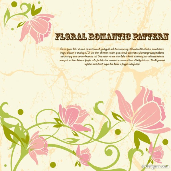 Line art pattern background 03   vector material