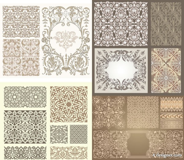 Kinds of patterns Vector