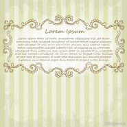 Exquisite lace pattern 05   vector material