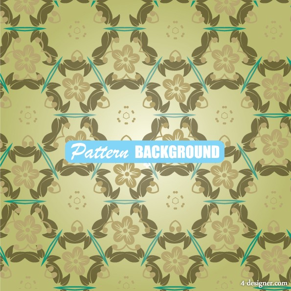 Simple and elegant pattern background 04   vector material